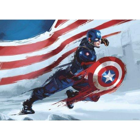 Capitão América Ao Ataque Banda Desenhada