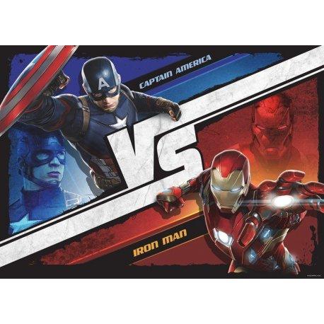 Capitão América vs Homem de Ferro Guerra Civil
