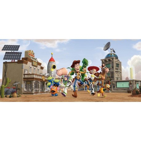 Woody e Amigos Toy Story a Correr