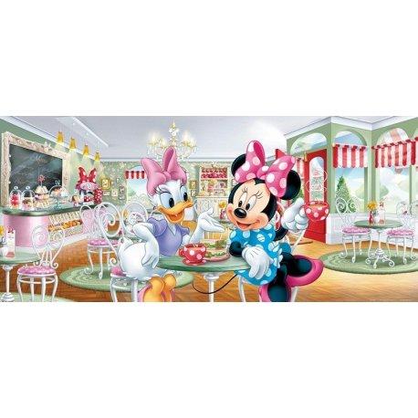A Minnie Mouse e a Daisy na Cafetaria