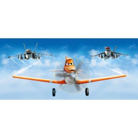 Dusty Crophopper e Echo Voam Juntos em Aviões