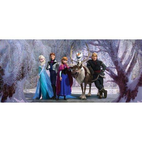 Frozen no Bosque de Inverno