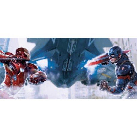 Homem de Ferro vs Capitão América Guerra Civil