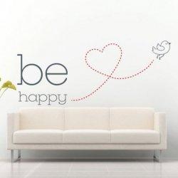 Be Happy Pequeno Pássaro