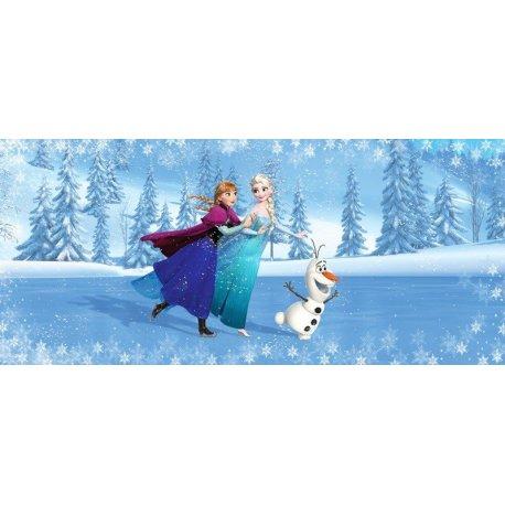 Elsa Anna e Olaf a Parinar no Gelo Frozen