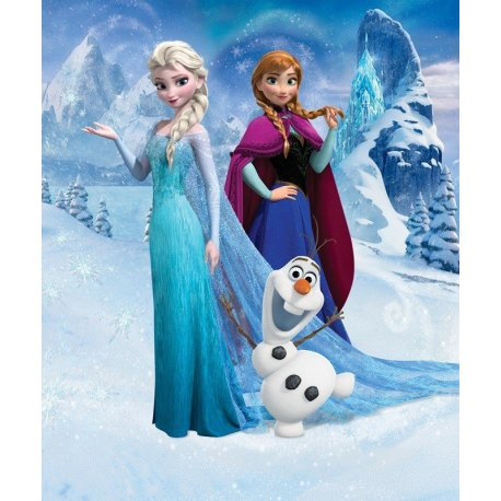 Elsa a Rainha da Neve e Anna Frozen