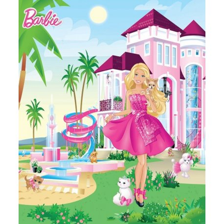 Barbie e os seus Animais na Mansão