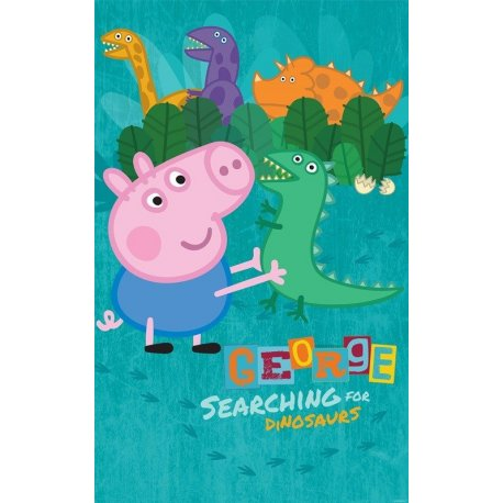 Peppa Pig a procurar os Dinossauros