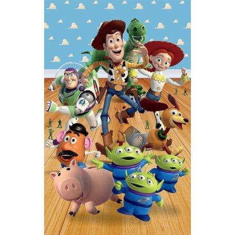 Amigos Toy Story no Quarto do Andy