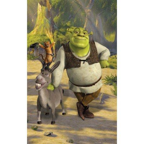 Shrek Burro e o Gato de Botas Juntos
