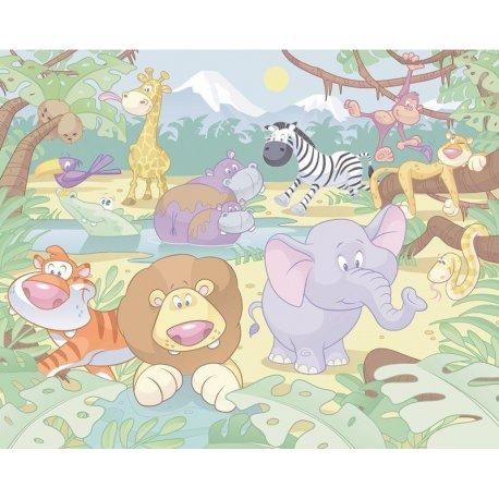 Animais da Selva Desenho Infantil
