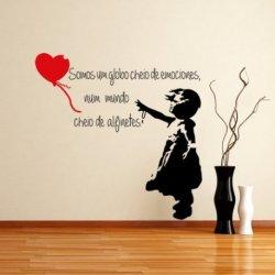 Menina com Balão de Banksy