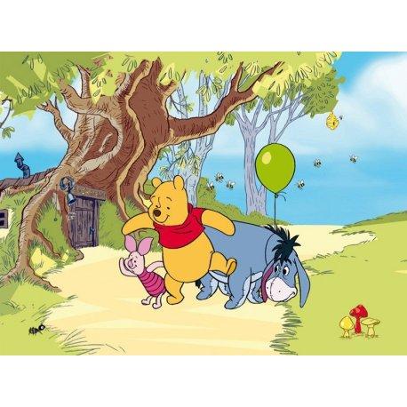 Winnie the Pooh e Eeyore e Piglet de Passeio
