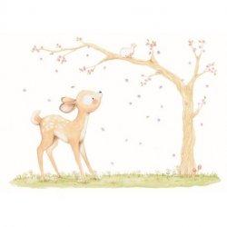 O Cervo e o Passarinho na Árvore