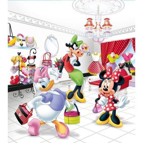 A Daisy a Minnie e a Clarabelle de Compras
