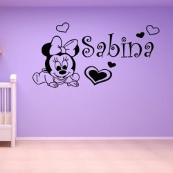 Bebê Minnie Mouse