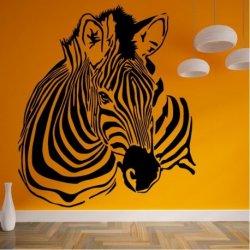 Zebra na sabana Africana