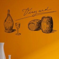 Natureza Morta Barris de Vinho