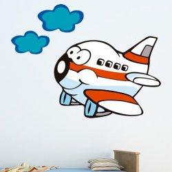 Um Avião Animado de Altura