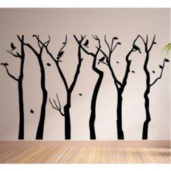 As Árvores Nuas em Outono