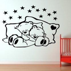 Casal de Ursinhos Dormidos