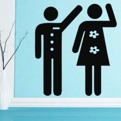 Homens e Mulheres Saludando