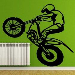 Motociclista de Motocross