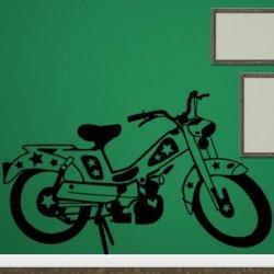 Motocicleta com Estrelas