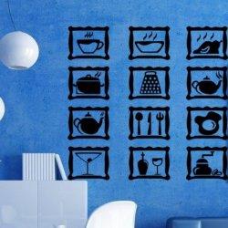 Utensilios de Cozinha Enmarcados
