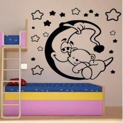 Ursinho Dormido sobre a Lua