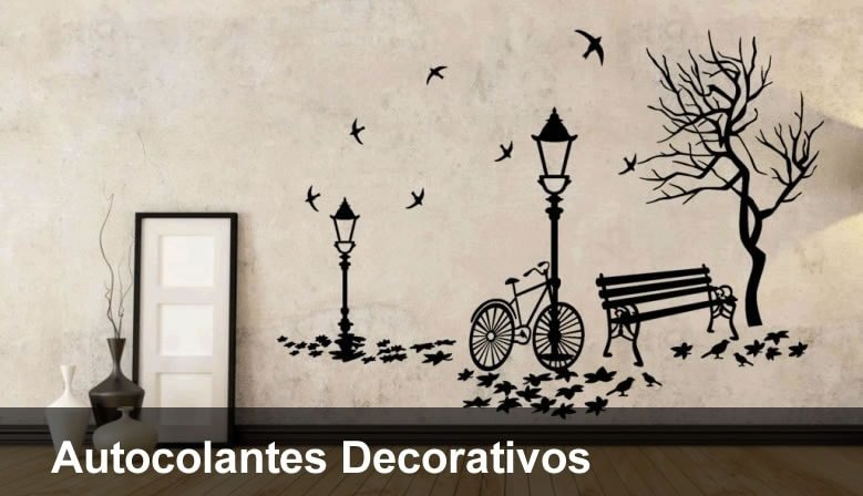 Autocolantes Decorativos